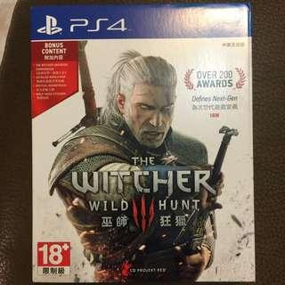 PS4遊戲:巫師3-狂獵(中英文合版)