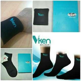 Vken Wearables : Vken Socks And Vken Wristlet
