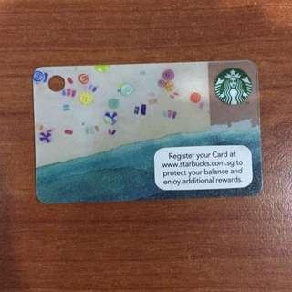 Starbucks mini card