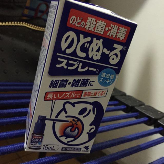 日本小林製藥喉嚨噴液