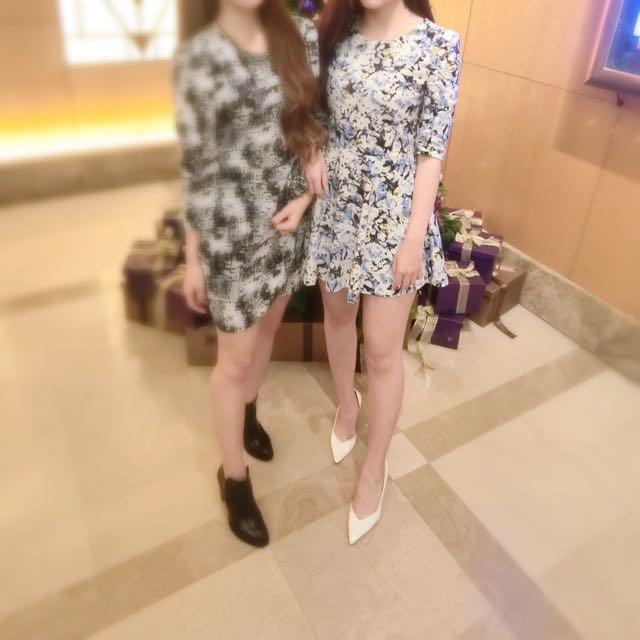正韓挺版洋裝(右邊