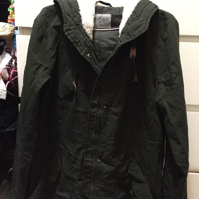 女生長版外套