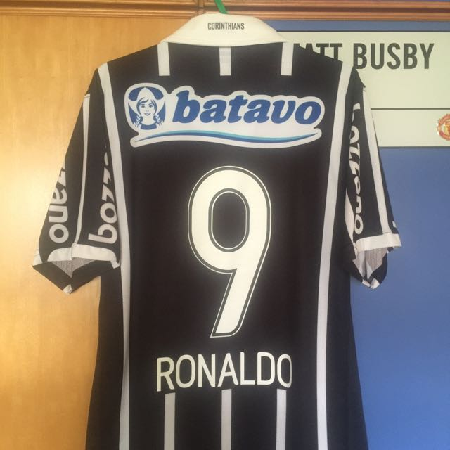 finest selection e5a8e c61d9 Authentic Official NIKE Corinthians 2009 Home Jersey RONALDO ...