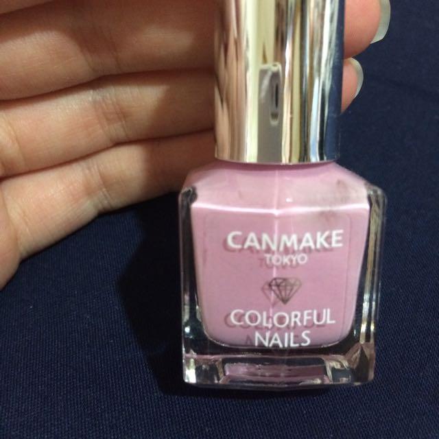 (含運)Canmake指甲油