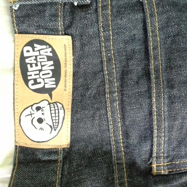 Cheap Monday Old School Regular Fit Jeans