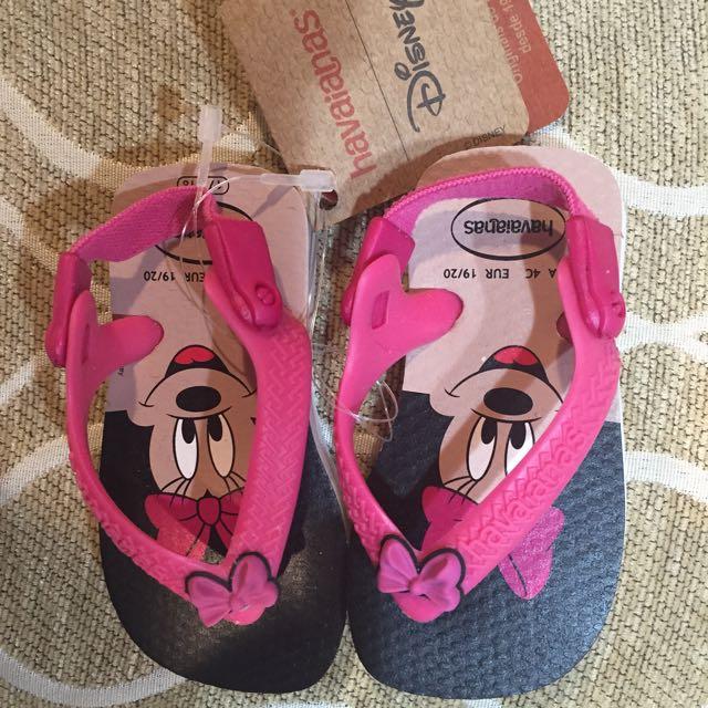 Havaianas 迪士尼米妮夾腳拖