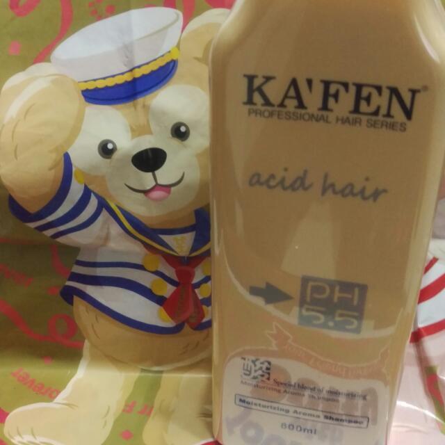 KA'FEN 酸性蛋白高保濕洗髮精 大瓶800ml