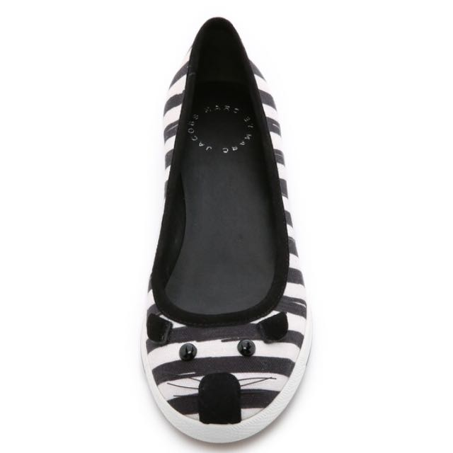 Sale!sale!sale!Marc By Marc Jacobs 小老鼠條紋平底便鞋