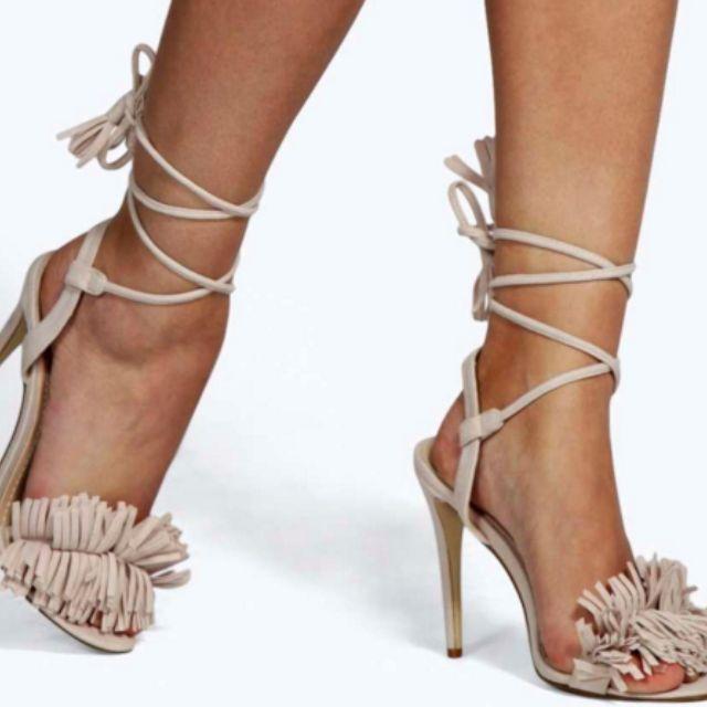 Millie Fringe Shoes