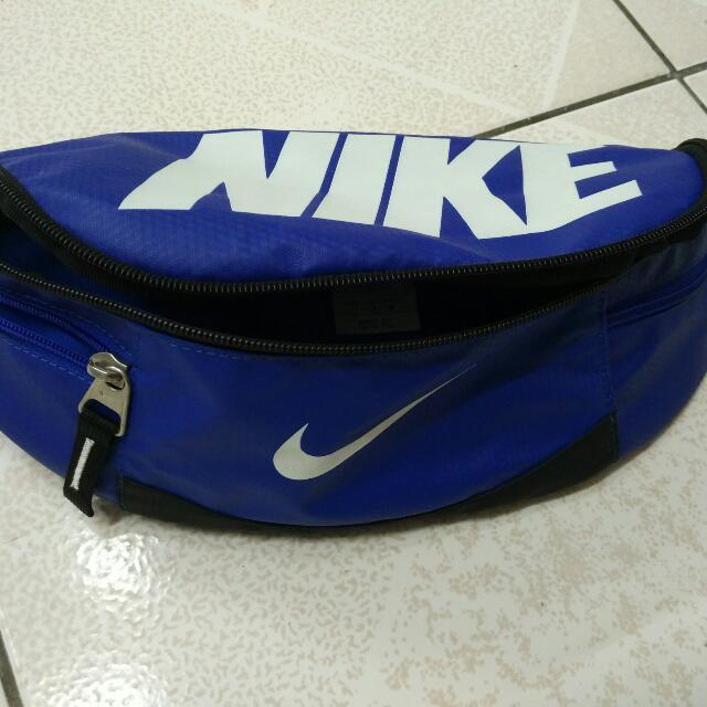 Nike 全新腰包 寶藍