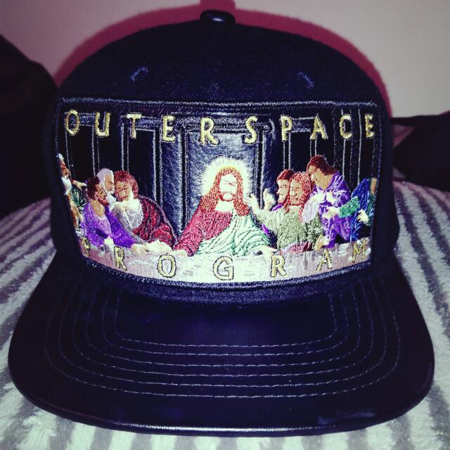 (正)OUTER SPACE 最後的晚餐 帽