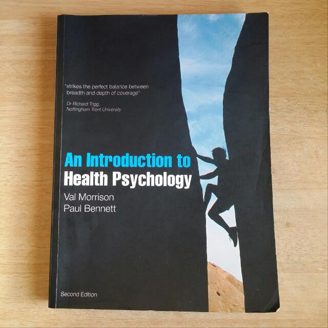 Pl3242 an introduction to health psychology textbooks on carousell photo photo photo fandeluxe Choice Image