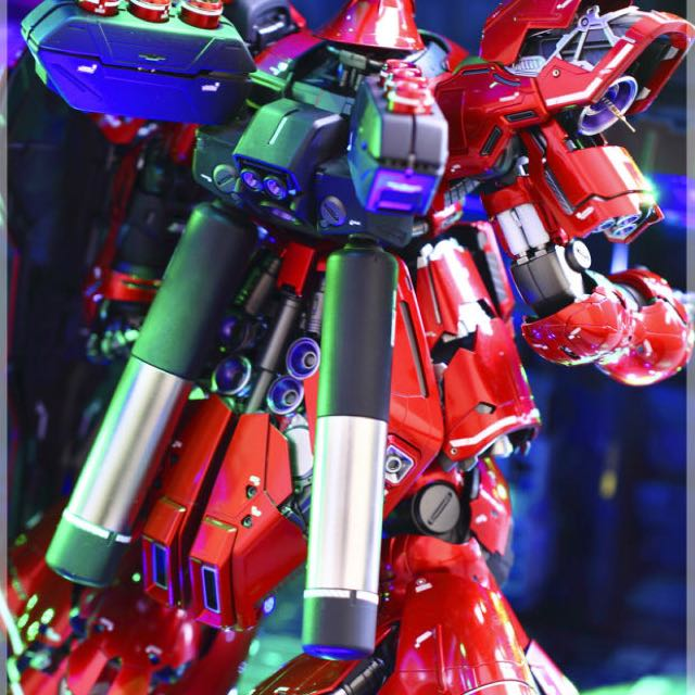 In Stock Custom Build]Sazabi Ver Ka with Gundam Lighting