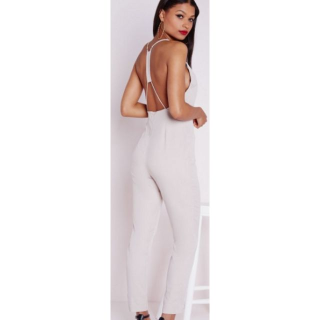 Silky Strappy Back Jumpsuit-New