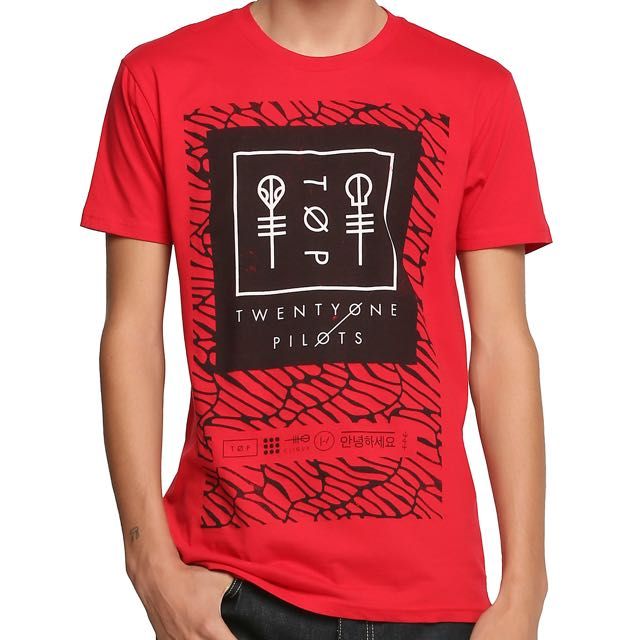 Official Twenty One Pilots Shirt