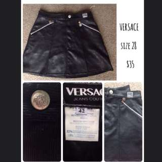 Versace size 28