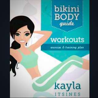 WORK OUT GUIDE KAYLA BBG