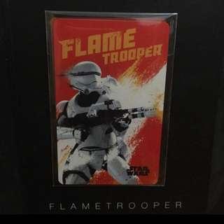STAR WARS EZLINK CARD (FLAME TROOPER)