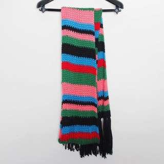 「全新」《針織圍巾》