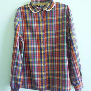 Vintage button-down shirt