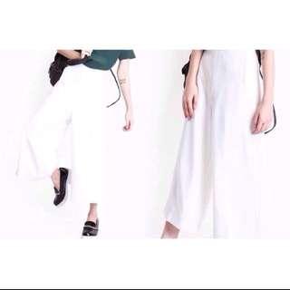 White Culottes (Premium Quality)