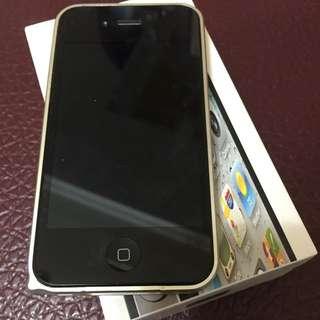 iPhone 4s黑色32GB 無泡水 刮傷(急售)