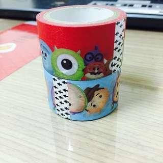 Disney Tsum Tsum 全家 紙膠帶