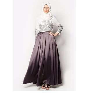 Zalia Embroidered Maxi Dress