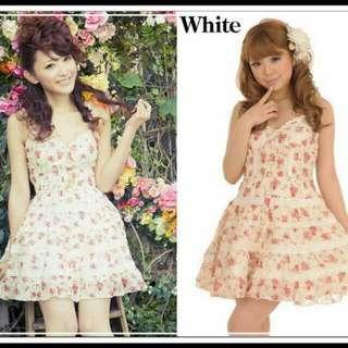 BNWT Genuine Liz Lisa Summer Floral Lace Dress