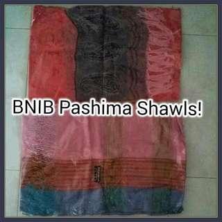 BNIB Pashima Shawls!