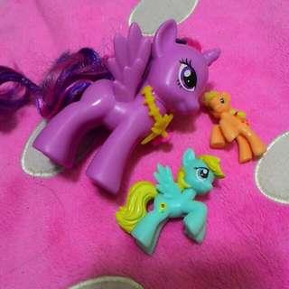 My little pony 彩虹小馬 公仔