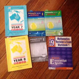 Maths Textbooks For Year 7-9 Students