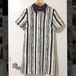 Simple Striped Dress
