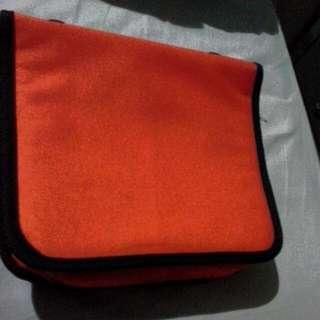 Orange DVD Holder