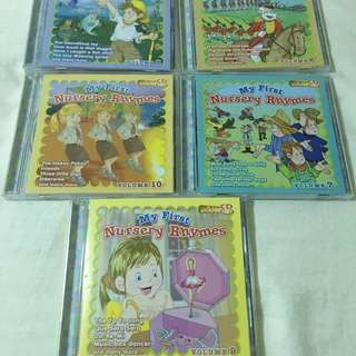 Nursery Rhymes CDs