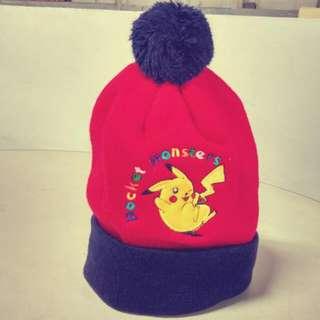 皮卡丘 毛帽