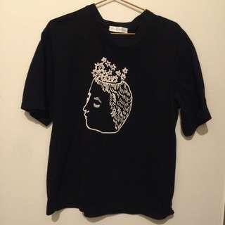 短袖T恤 (F) 八成新 (免運費)