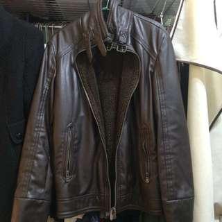 Zara Leather Coat 皮衣