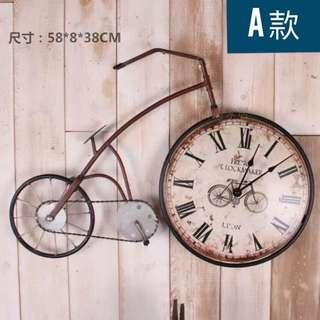 復古自行車掛鐘