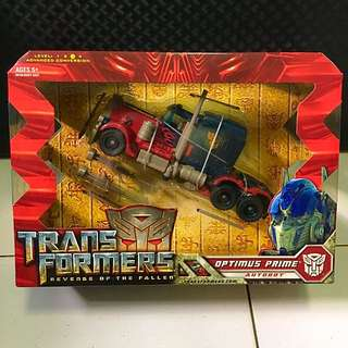 PROMO: Transformers ROTF Voyager Class - Optimus Prime