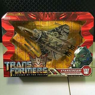 Transformers ROTF Voyager Class (Starscream)