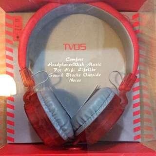 TVOS 耳機 麥克風 耳罩式