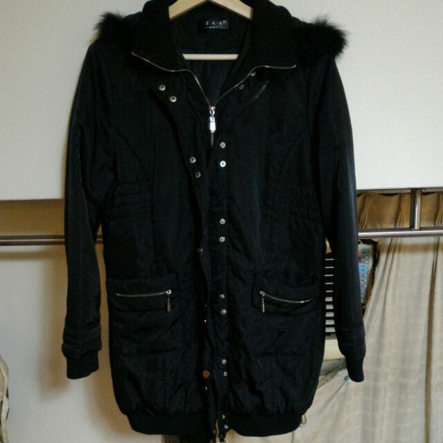 2手長版雙拉鍊外套...(含運)2L