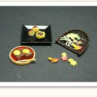 (待寄出)Re-ment第25彈 仿真食玩 日本秋季和果子