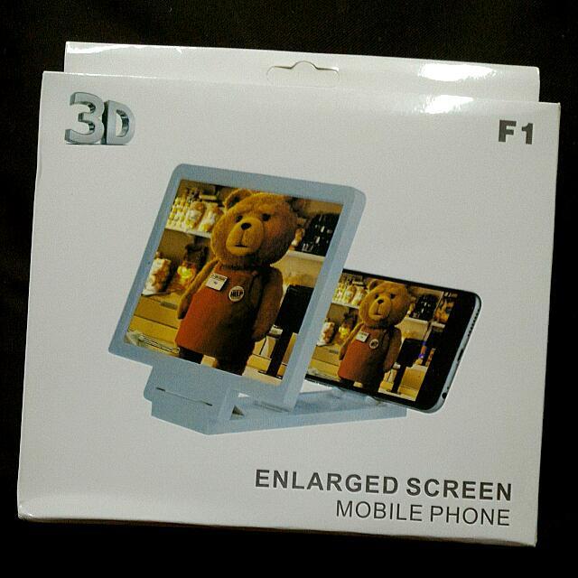3D手機平板電腦銀幕放大鏡架