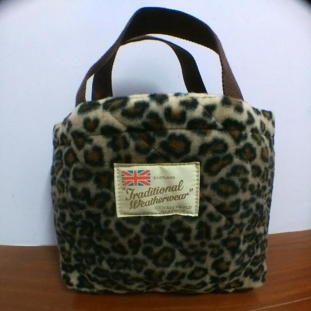 ✨雜誌-豹紋手提小包