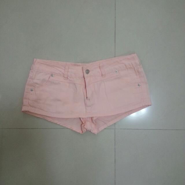低腰假褲裙 28腰