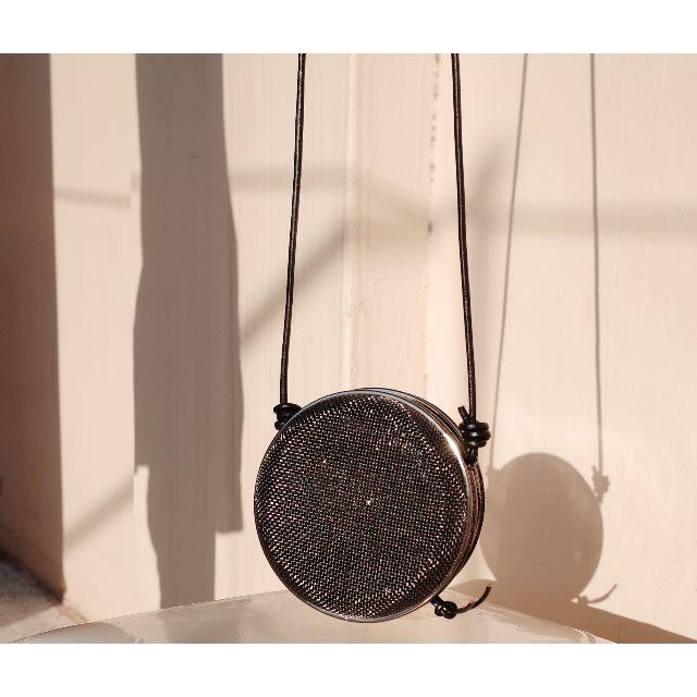 訂製極簡圈形系列鋼絲材質小包 (附鍊條)