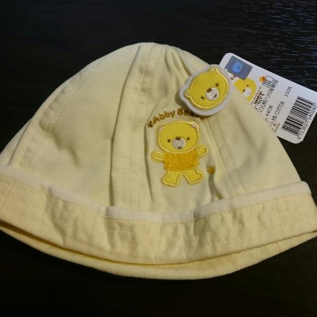 艾比熊 嬰兒帽