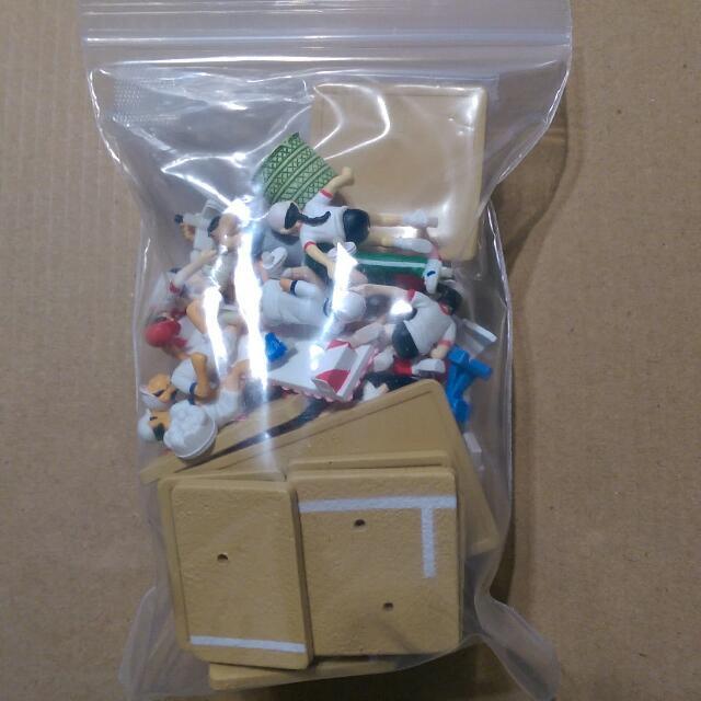一組八種500元 Bandai 萬代 全能 運動會 國小 小學生 盒玩